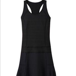 Athleta Serve It Up Black Sport Dress